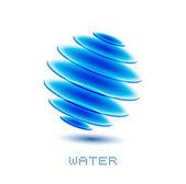 Simbolo dell'acqua — Vettoriale Stock