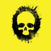 Memento Mori, Skull — Stock Vector
