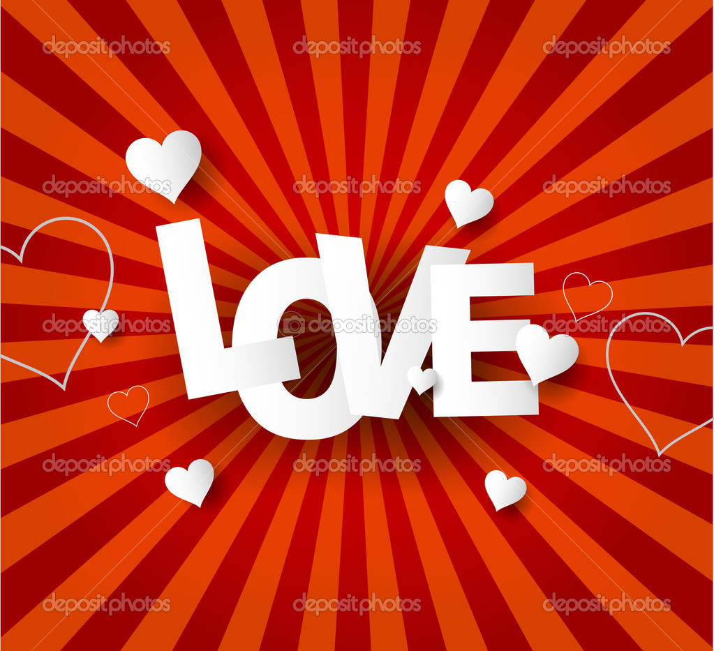 Love Abstract  background  Stock Vector #13673695