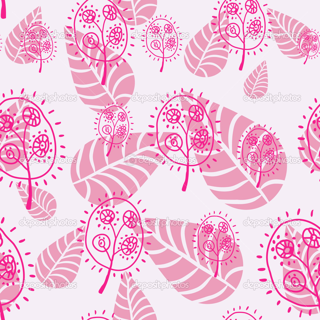 Floral seamless pattern  Stock Vector #13677430
