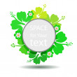 Flower colorful banner. Vector. — Stockfoto