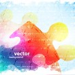 Abstract puzzle shape colorful vector design — Stock Photo #13754607