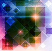 Abstrakt teknik vektor bakgrund — Stockfoto