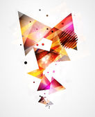Abstract geometrical background — Stock Photo