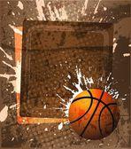Basketball-werbeplakat. vektor-illustration — Stockfoto