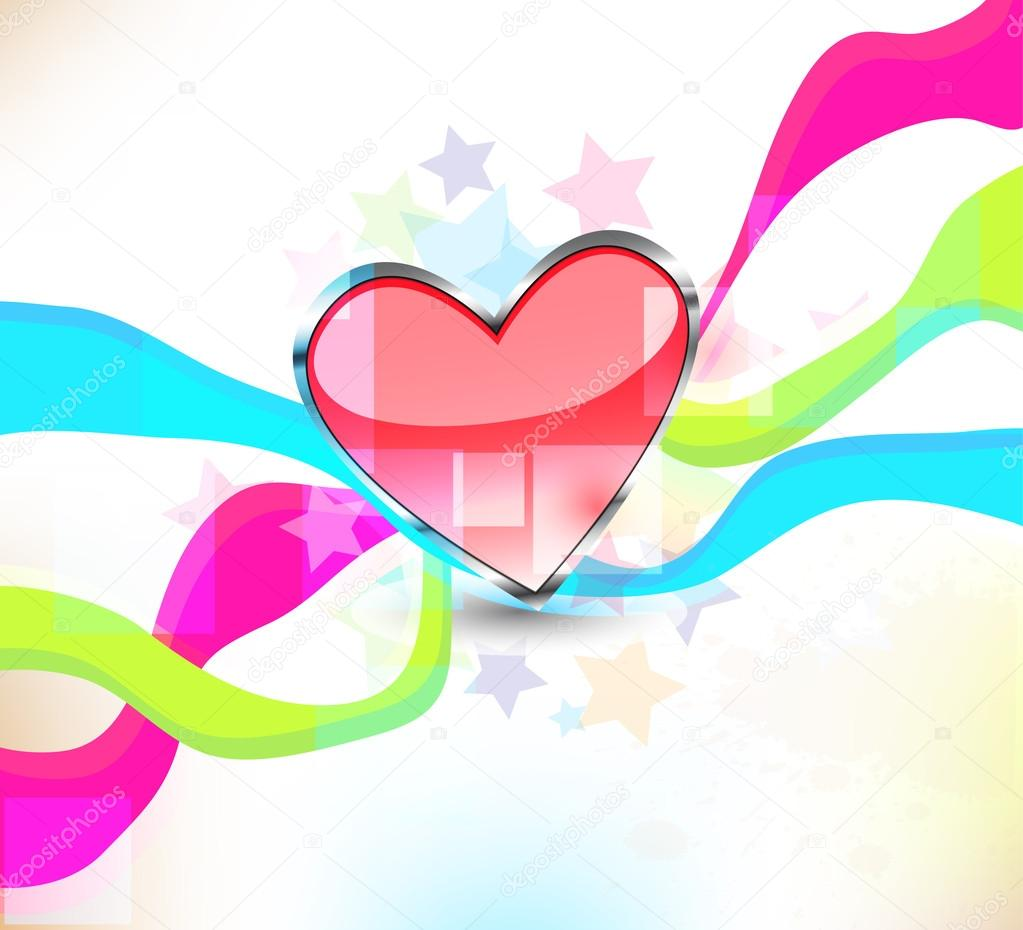 Heart background — Foto Stock #13754875