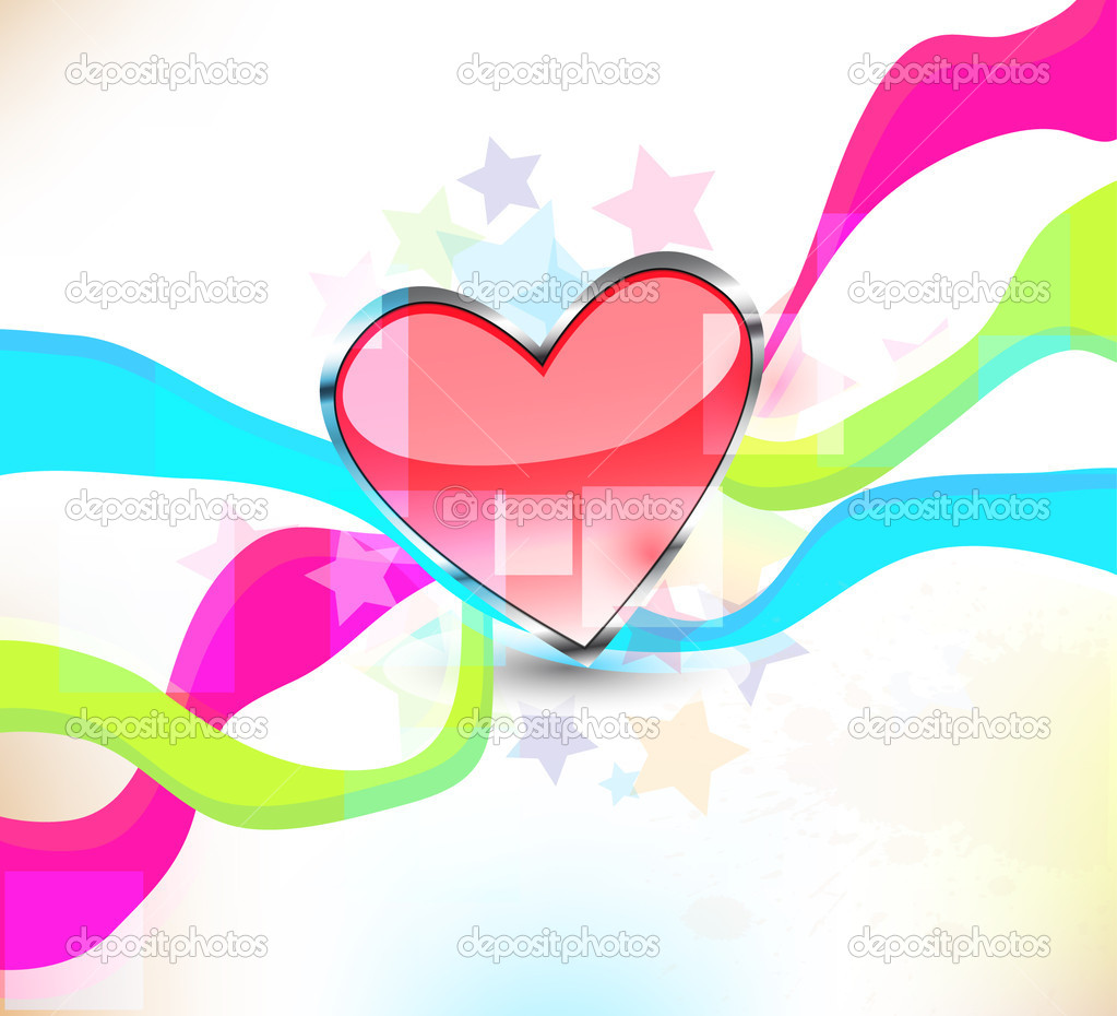 Heart background  Stockfoto #13754875