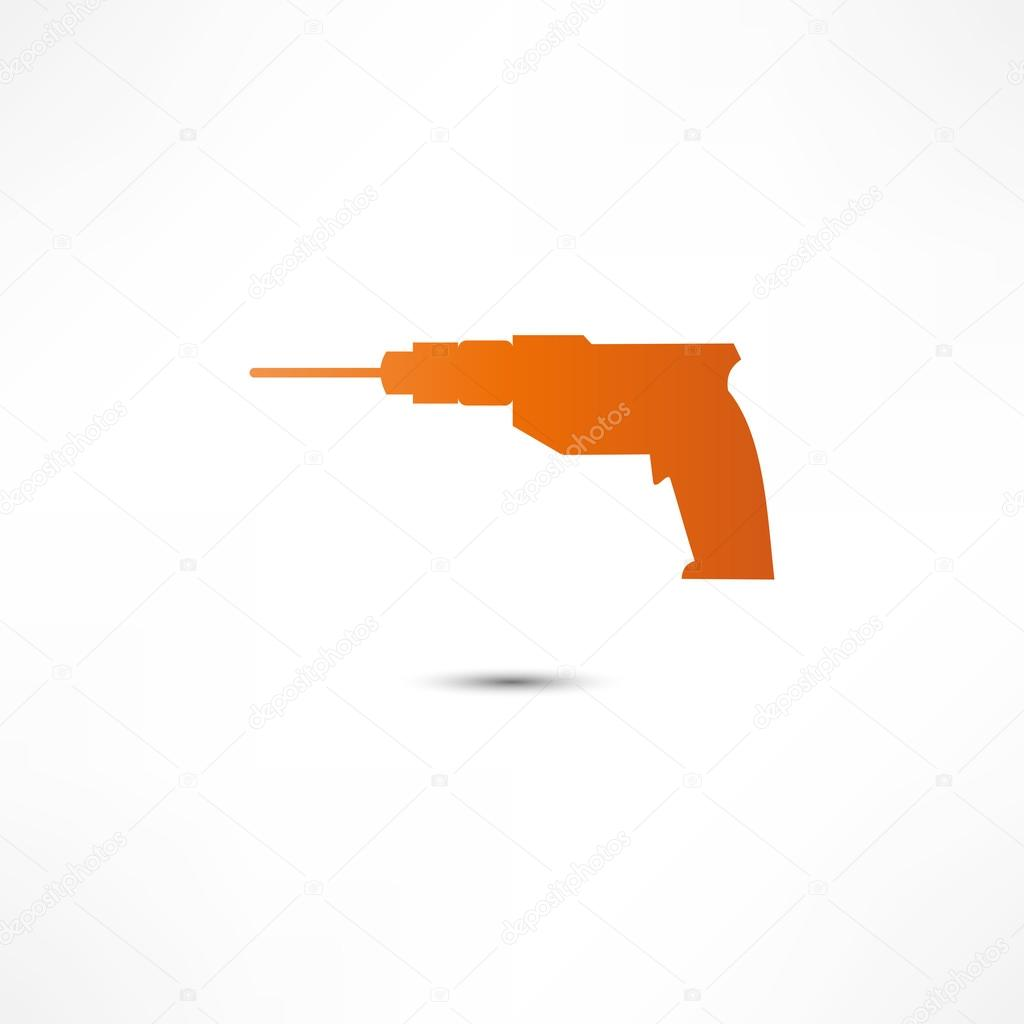 Drill Icon  Stock Vector #15351443
