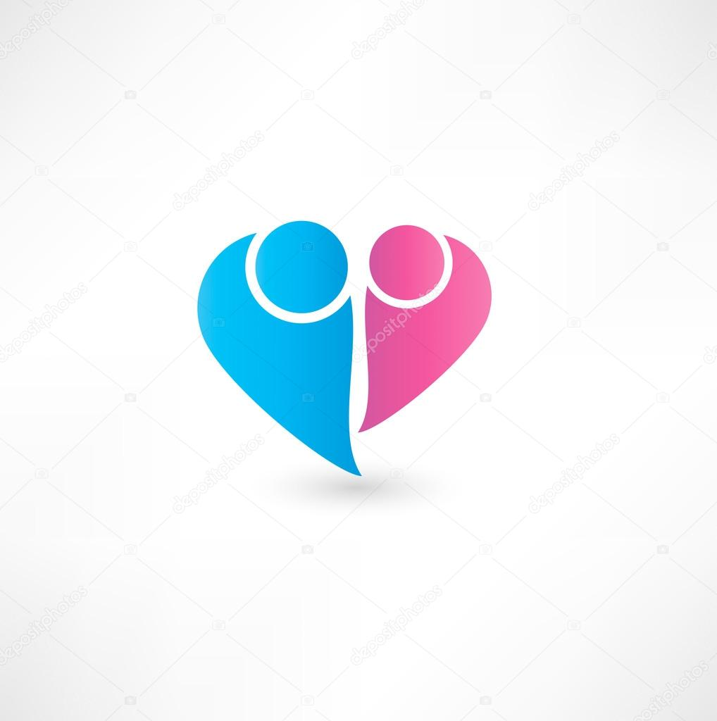 Couple icon — Stock Vector #17182541