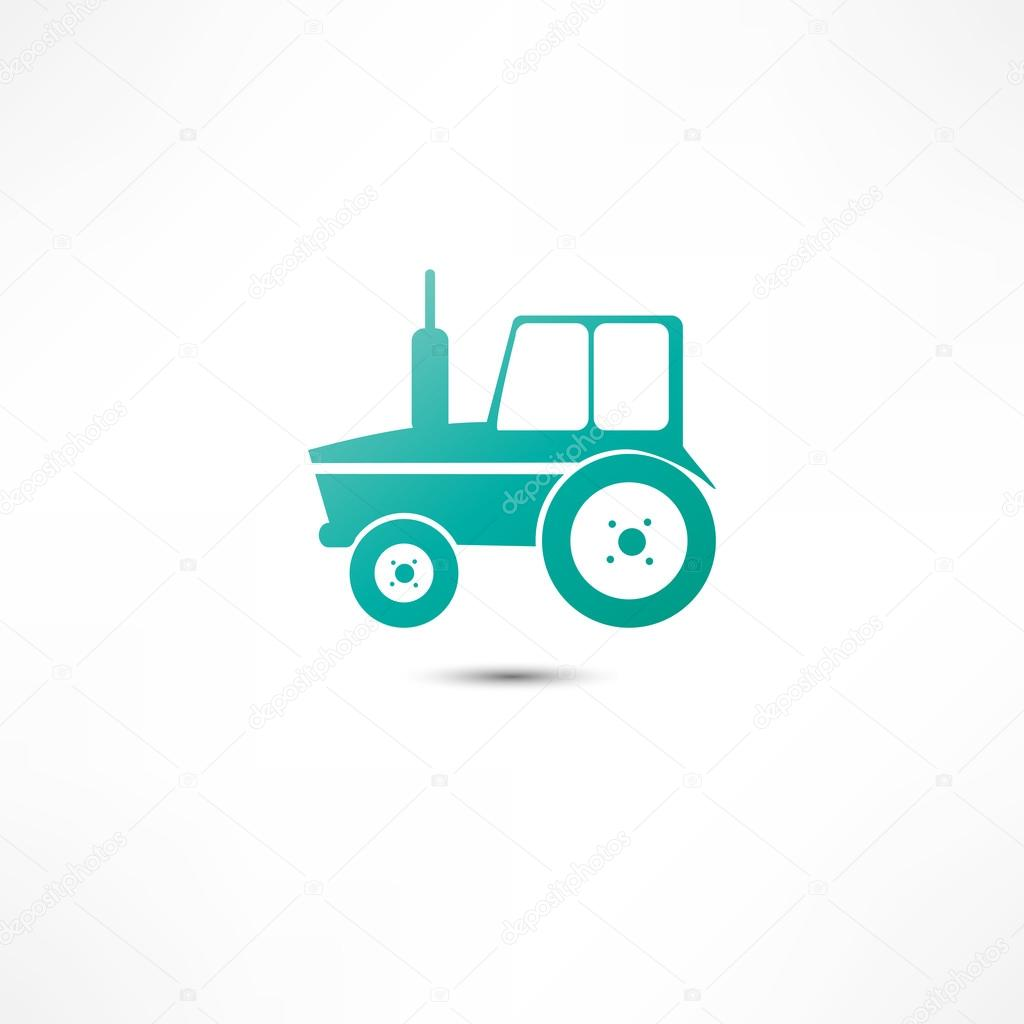 Tractor icon — Stock Vector #17182631