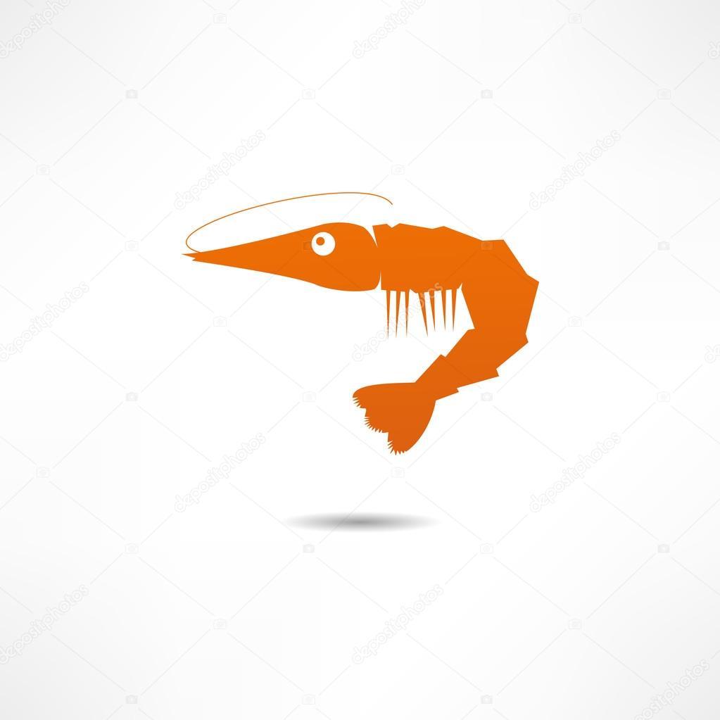 Shrimp — Stock Vector © file404 #18889217