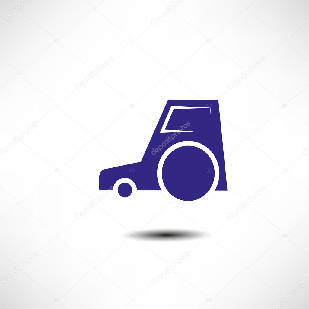 Tractor icon  Stock Vector #20693823