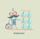 Homem de negócios — Vetor de Stock