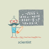 Scientist — Stock Vector