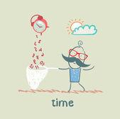 ícone de tempo — Vetorial Stock
