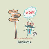 Affärsman — Stockvektor
