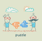 Puzzle — Vetorial Stock