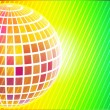 Disco Party banner — Stok Vektör