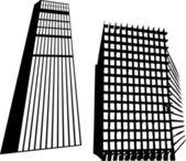 Set of buildings — Stock Vector
