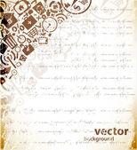 Web design background — Stock Vector