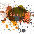 Abstract splash background — Imagen vectorial