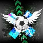 Soccer banner — Stock Vector #31270249