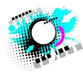 Arte contemporáneo abstracta grunge fondo — Vector de stock