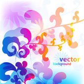 Colorful spring design — Stock Vector