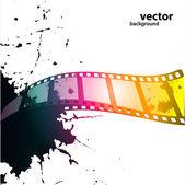 Film background — Stock Vector