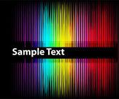 Fond d'écran coloré abstrait — Vecteur