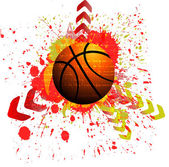 Vector background of basketball sport — Stock Vector