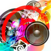 Music Event grunge background. — Stock Vector