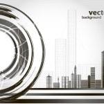 Abstract urban city — Stock Vector #32460905