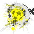 Soccer design element — Stock Vector