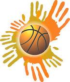 Векторный баннер баскетбол — Cтоковый вектор