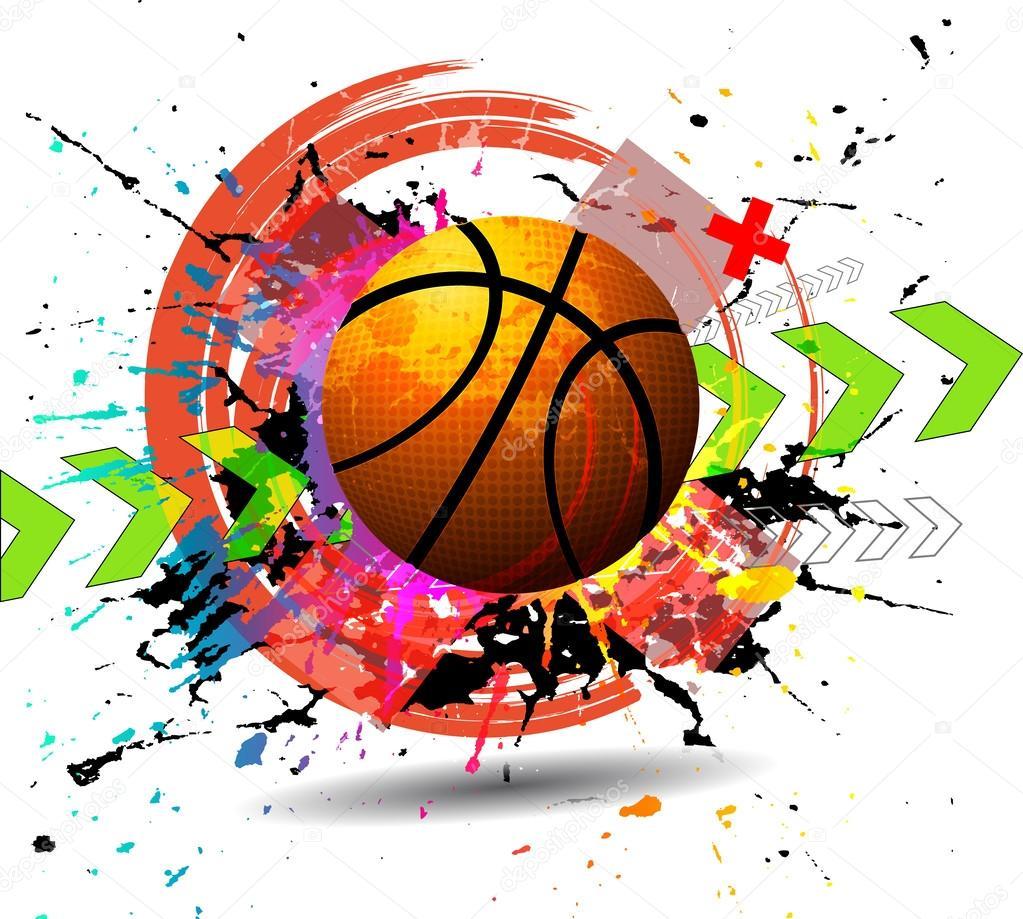 设计元素篮球 — 图库矢量图片#32603503