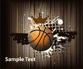 Design elements basketball — Stock Vector