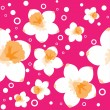 Daffodils seamless background — Stock Vector #32700013
