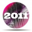2011 design — Vector de stock #32817927