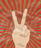 Arm grunge background — Stock Vector