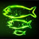 Fish symbol — Stock Vector
