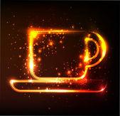 Cup symbol — Stock Vector