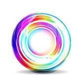 Абстрактный красочный баннер — Cтоковый вектор