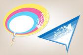 Messenger window icon vector illustration — Stock Vector