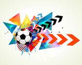 Vektör futbol arka plan — Stok Vektör