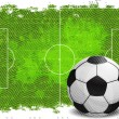 Vector football banner. — Stock Vector #33049957