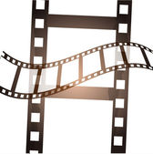 Grunge film background — Stock Vector