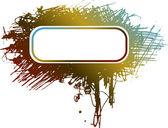手绘 grunge 横幅 — 图库矢量图片