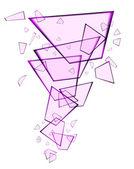 Абстрактный стеклянный фон — Cтоковый вектор