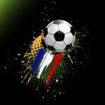 Soccer banner — Stock Vector #33050011